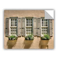 ArtAppealz Steve Ainsworth 'Windows Of Old Charleston' Removable Wall Art