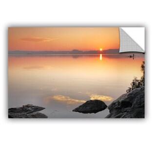 ArtAppealz Steve Ainsworth 'Potomac Sunrise' Removable Wall Art