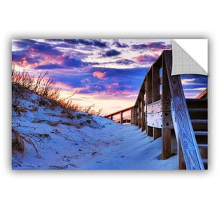ArtAppealz Steve Ainsworth 'Sunset At Ocracoke' Removable Wall Art