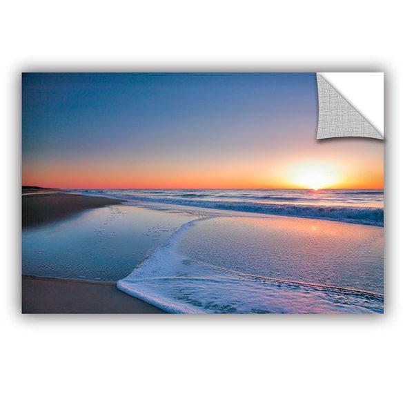 ArtAppealz Steve Ainsworth 'Sunrise Over Assateague Ii' Removable Wall Art