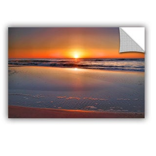 ArtAppealz Steve Ainsworth 'Sunrise Over Assateague ' Removable Wall Art