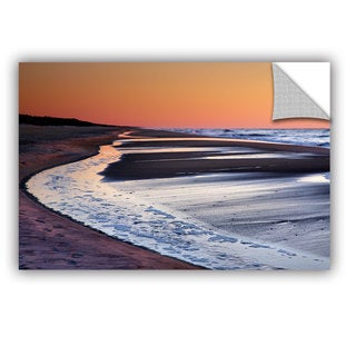 ArtAppealz Steve Ainsworth 'Tide Pools At Sunrise' Removable Wall Art