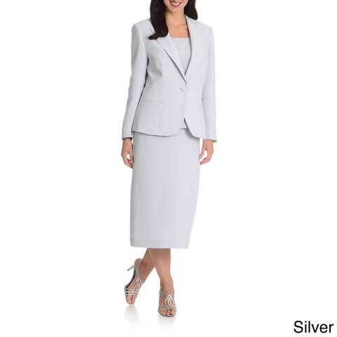 Giovanna Signature Women's Washable 3-piece Skirt Suit