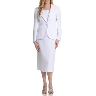 Giovanna Signature Women's Washable 3-piece Skirt Suit (Option: 16)