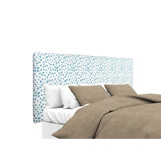 MJL Furniture Alice Togo Aqua Blue Upholstered Headboard