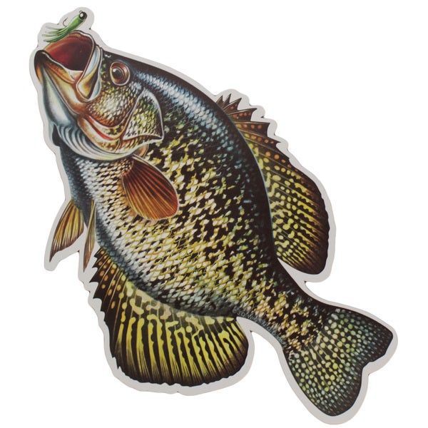 Rivers Edge Products Auto Magnet Crappie
