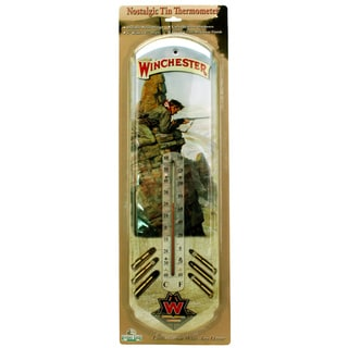 Rivers Edge Products Tin Thermometer Winchester Hunter