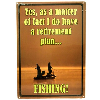 Rivers Edge Products 12-inch x 17-inch Tin Sign Yes As A Matter Of Fact