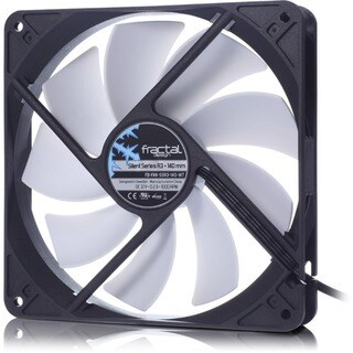Fractal Design Silent R3 140mm Cooling Fan White