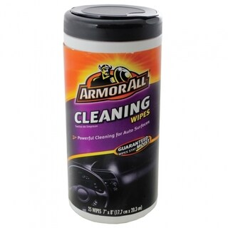 Armor All Auto Cleaning Wipes Can Safe