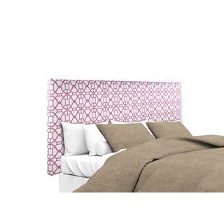 MJL Furniture Alice Noah Blush Upholstered Headboard
