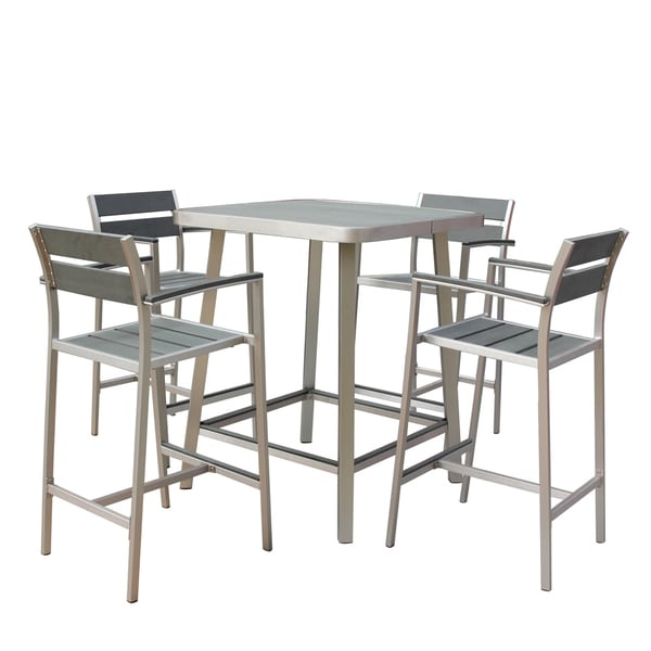 Canaria 5 Piece Polylumber Outdoor Pub Set Free Shipping