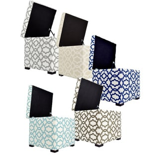 Tami Sheffield Square Storage Ottoman