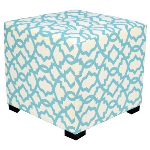 Perfect MJL Furniture Togo 4 Button Tufted Square Ottoman
