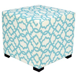 MJL Furniture Togo 4 Button Tufted Square Ottoman