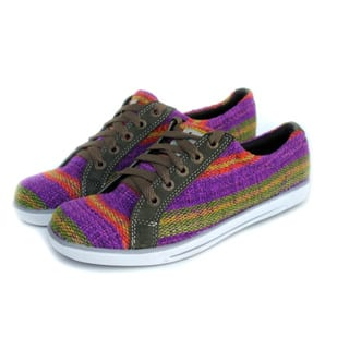 ANDIZ Women's Handmade Multi-colored, Green Low-cut Oxford Shoes|https://ak1.ostkcdn.com/images/products/10361650/P17469548.jpg?impolicy=medium