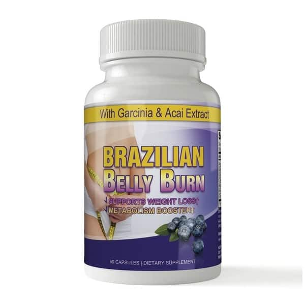 Shop Brazilian Belly Burn Acai All Pure Diet Pill Pack Of 2 On