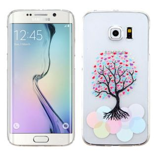 Insten Slim Hard Snap-on Rubberized Matte Phone Case Cover For Samsung Galaxy S6 Edge