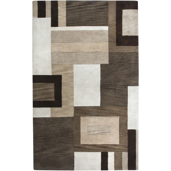 Rizzy Home Volare Collection Hand Tufted Geometric Wool