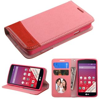 Insten Slim Leather Wallet Flap Pouch Phone Case Cover with Stand/ Photo Display For LG Optimus F60