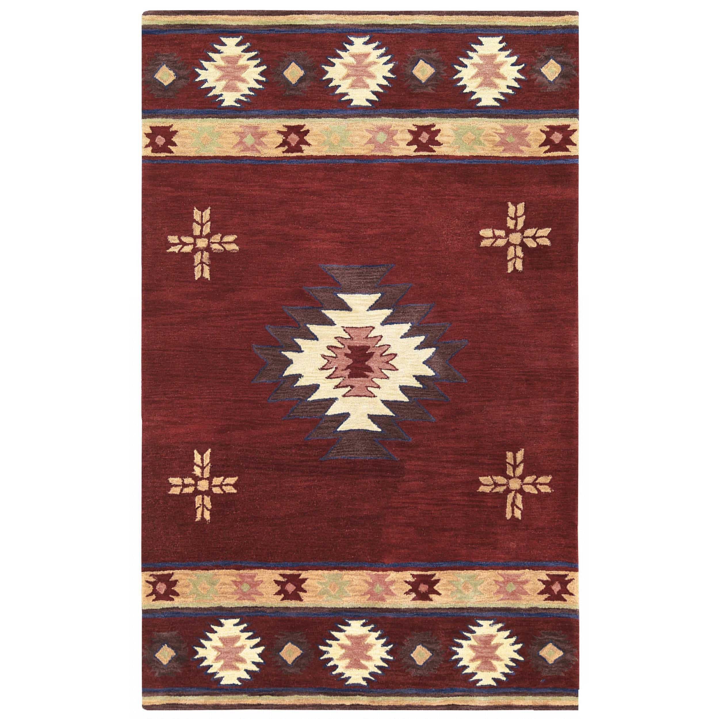 Ryder Collection Southwest Rug On Sale Overstock 10362465