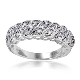 DB Designs 1/4ct TDW Diamond S Shape Ring