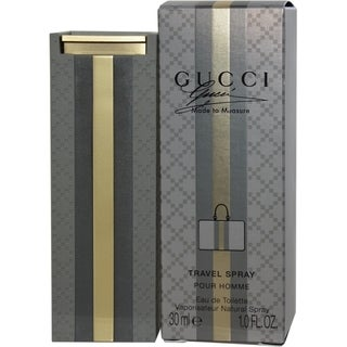 Gucci Made To Measure Men's 1-ounce Eau de Toilette Travel Spray