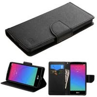 Insten Slim Leather Wallet Flap Pouch Phone Case Cover with Stand For LG Spirit 4G