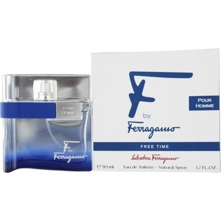 Salvatore Ferragamo F By Ferragamo Free Time Men's 1.7-ounce Eau de Toilette Spray