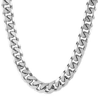 8875289eee95 Buy Stainless Steel Men s Necklaces Online at Overstock