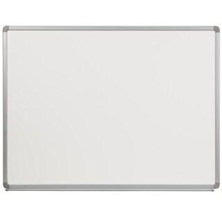 4-foot x 3-foot Porcelain Magnetic Marker Board