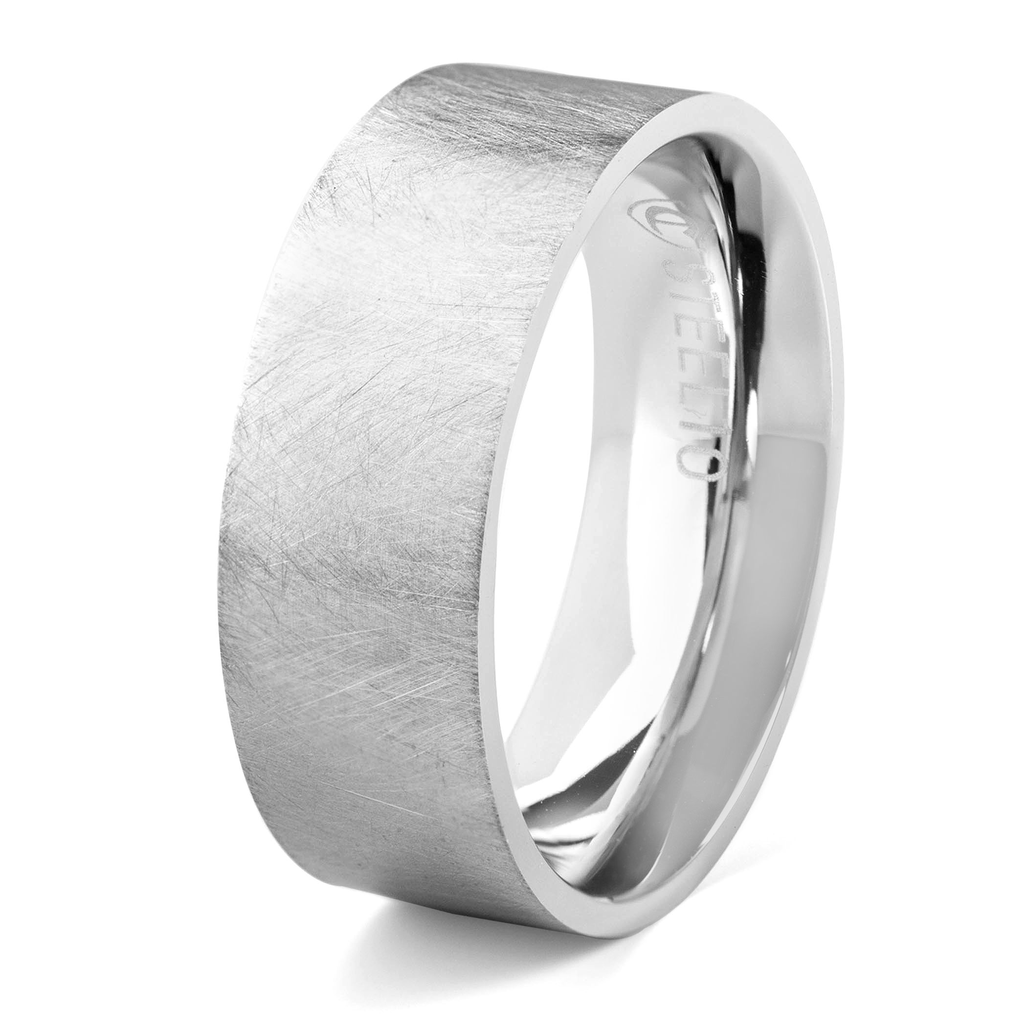 West Coast Jewelry Sterling Silver Large Satin Number 33