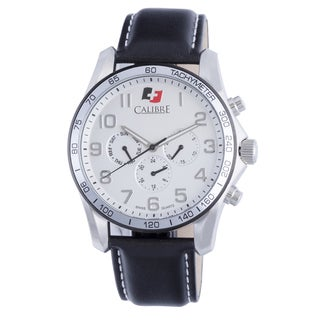 Calibre Buffalo Mens Silver Dial Watch
