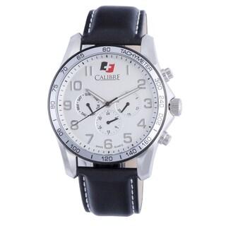 Calibre Buffalo Mens Silver Dial Watch