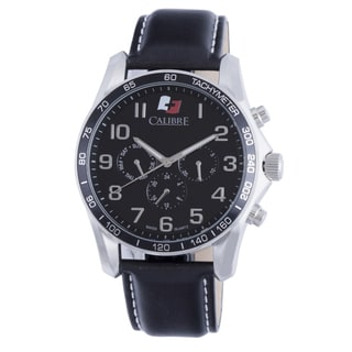 Calibre Buffalo Mens Black Dial Watch