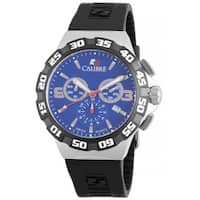 Calibre Lancer Mens Blue Dial Watch