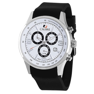 Calibre Mauler Mens White Dial Watch