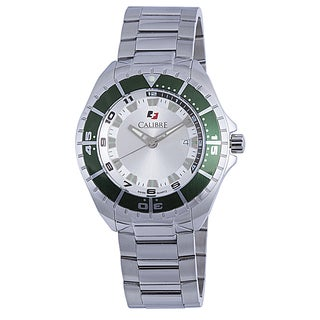 Calibre Sea Knight Mens White Dial Watch