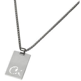 Caseti Windsor Stainless Steel Pendant with Chain