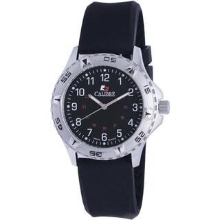 Calibre Sea Wolf Men's Swiss Quartz Rubber Strap Watch
