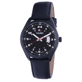 Calibre Trooper Mens Black Dial Watch|https://ak1.ostkcdn.com/images/products/10362942/P17470661.jpg?impolicy=medium