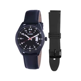 Calibre Trooper Mens Black Dial Watch|https://ak1.ostkcdn.com/images/products/10362951/P17470666.jpg?impolicy=medium