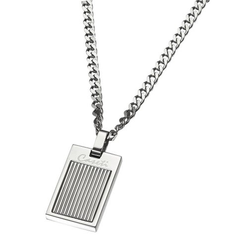 Caseti Grill Stainless Steel Pendant with Chain
