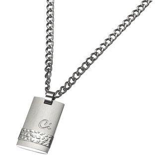 Caseti Zaldun Stainless Steel Pendant with Chain