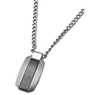 Caseti Jet Stainless Steel Pendant with Chain