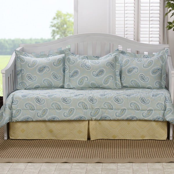 Chloe Paisley Cotton 5-piece Daybed Set
