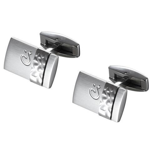 Caseti Zaldun Stainless Steel Cufflinks