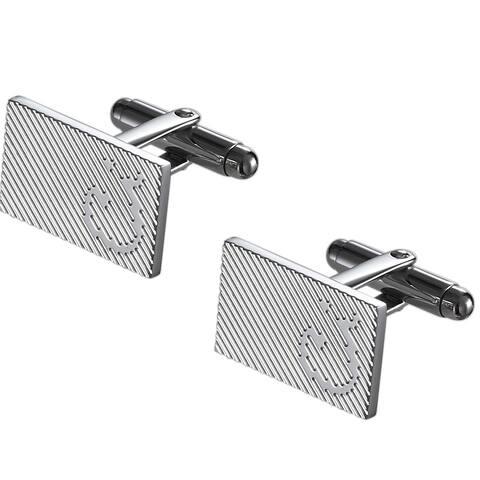 Caseti Windsor Stainless Steel Cuff Links