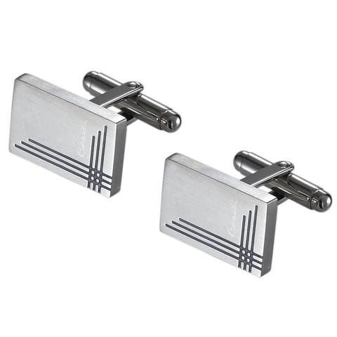 Caseti Gaspar Stainless Steel Cuff Links