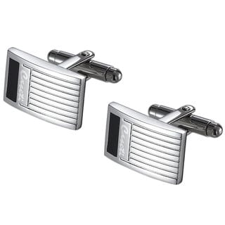 Caseti Clayworth Black and Gray Cuff Links